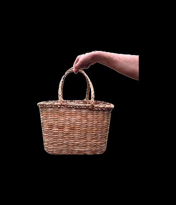 Sepetcide Hasır Kol çantası genellikle plaj çantası olarak kullanılır.